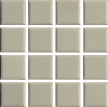 Waxman CU-171 Unglazed White - Ceramic Pool Tiles - 10 Sheet Pack